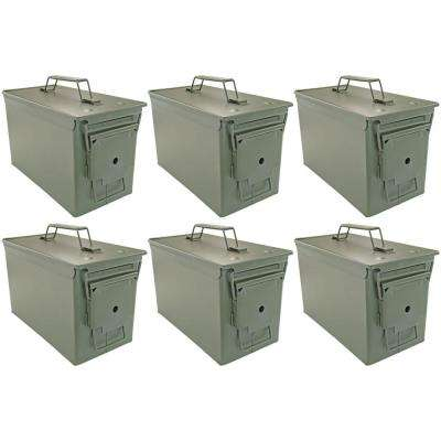 50 Cal Ammo Cans (6-Pack)