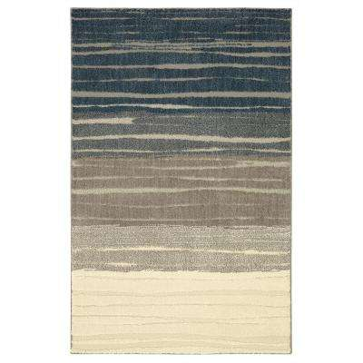 American Rug Craftsmen Nomad Pagosa Blue 8 ft. x 10 ft. Area Rug