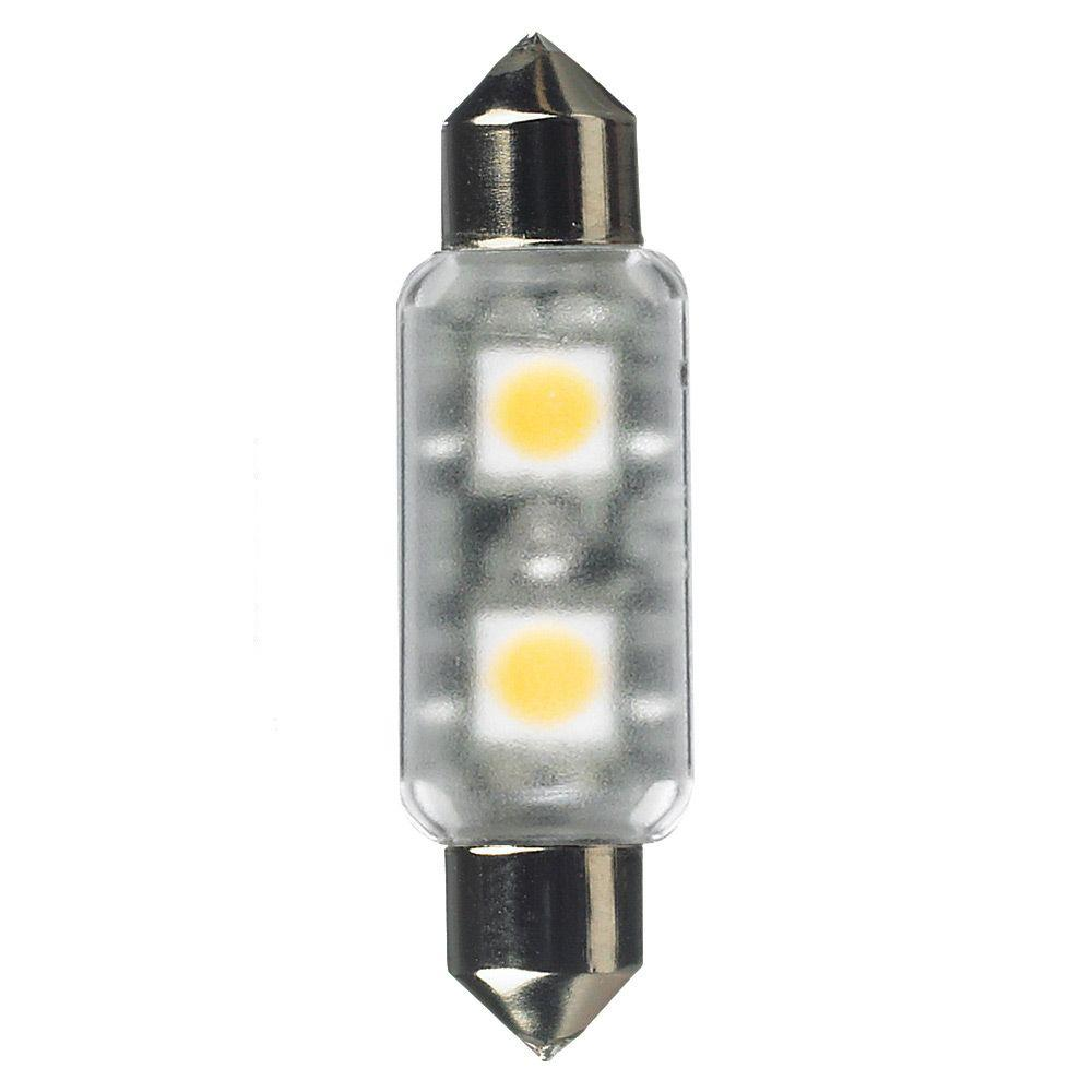 24-Volt LED Frosted T3 Festoon Lamp (2700K)