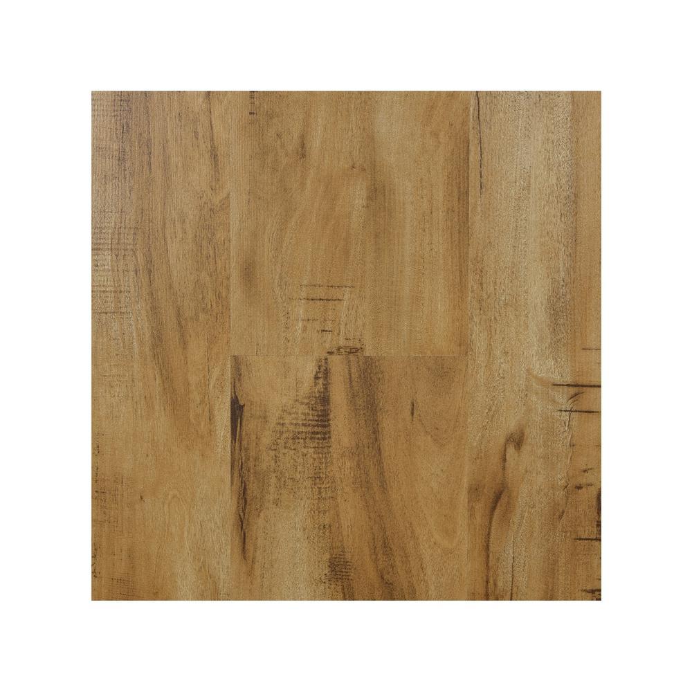 Take Home Sample - Natural 8 mm Laminate Flooring 7.68 in. W x 8 in. L