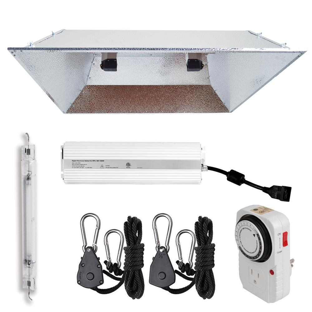 1000-Watt Double Ended HPS 120/240-Volt Grow Light System with DE XXL