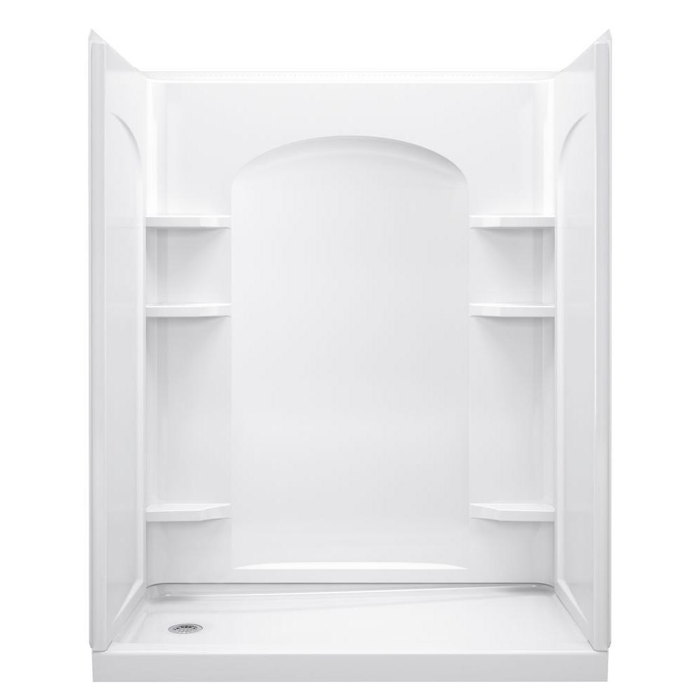 Sterling ensemble 32 in x 60 in x 74 1 2 in shower kit Walk in shower kits
