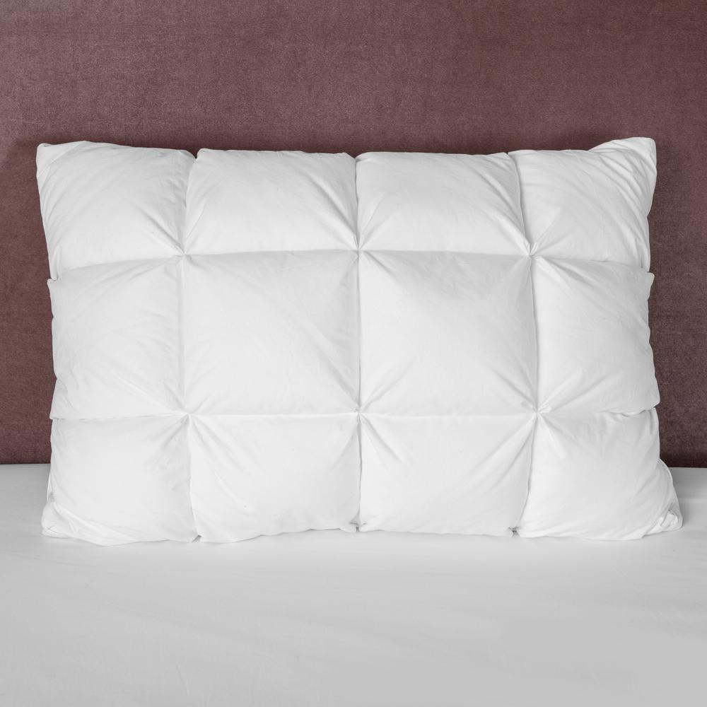 Memory Cloud Baffle Box Jumbo Oversized Fiber Pillow
