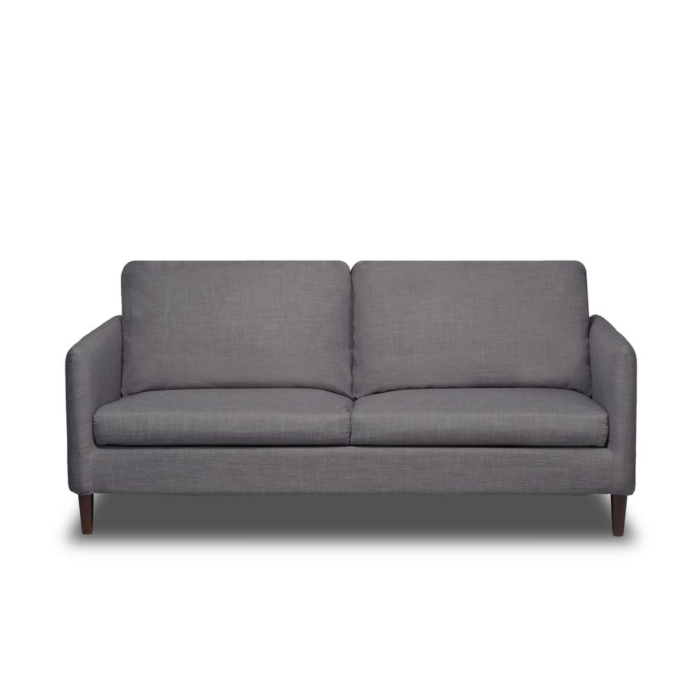 Crosby Flannel Grey Sofa