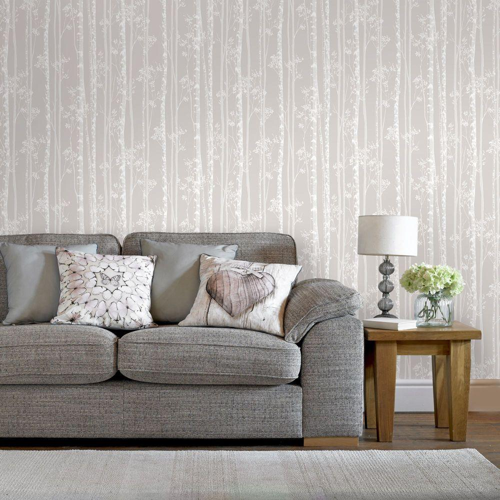 Kenneth James Banyan Taupe Tree Wallpaper Sample-2671-22410SAM - The ...