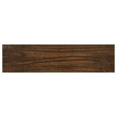 Montagna Gunstock 6 in. x 24 in. Glazed Porcelain Floor and Wall Tile (14.53 sq. ft. / case)