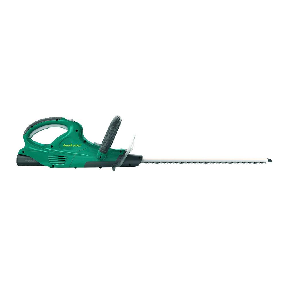 Weed Eater HT160i 16 in. 20-Volt Lithium-Ion Cordless Hedge Trimmer Battery & Charger Included