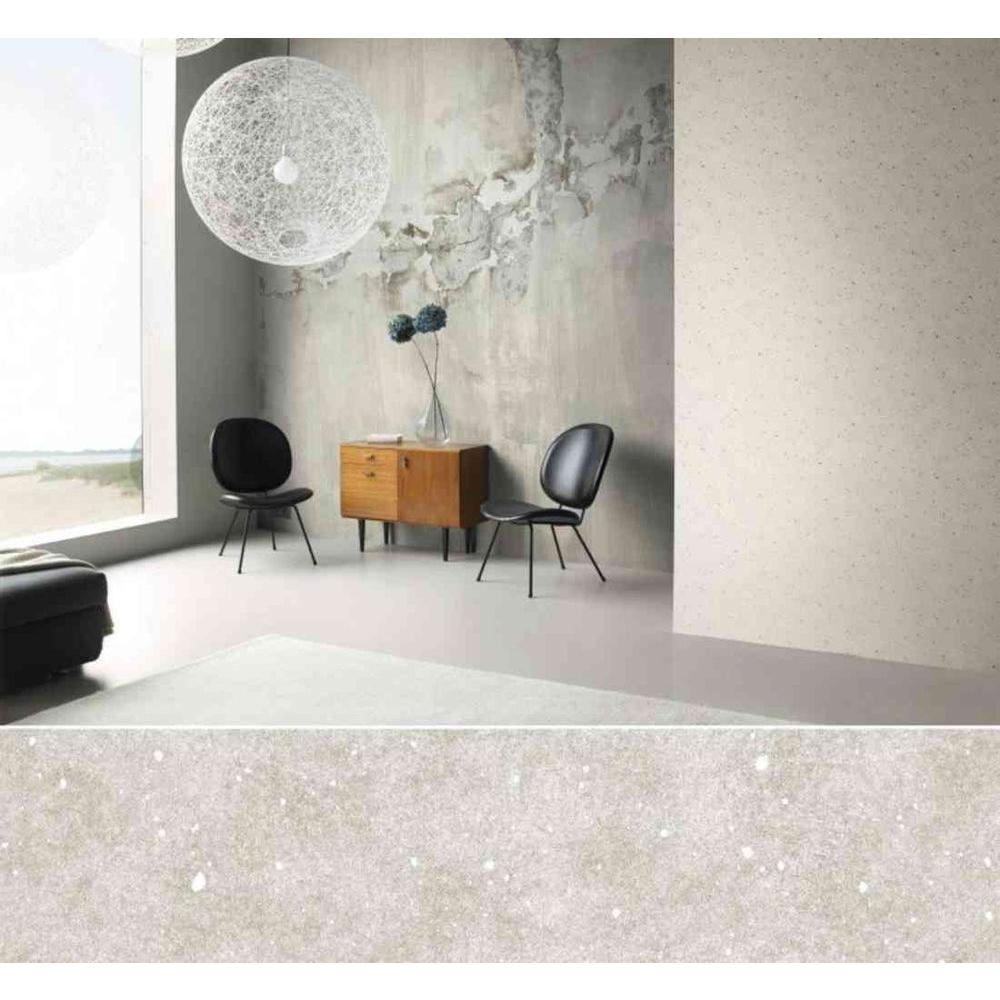 Washington Wallcoverings 102 in. H x 168 in. W Distressed Gray Tone Faux Concrete Wall Mural