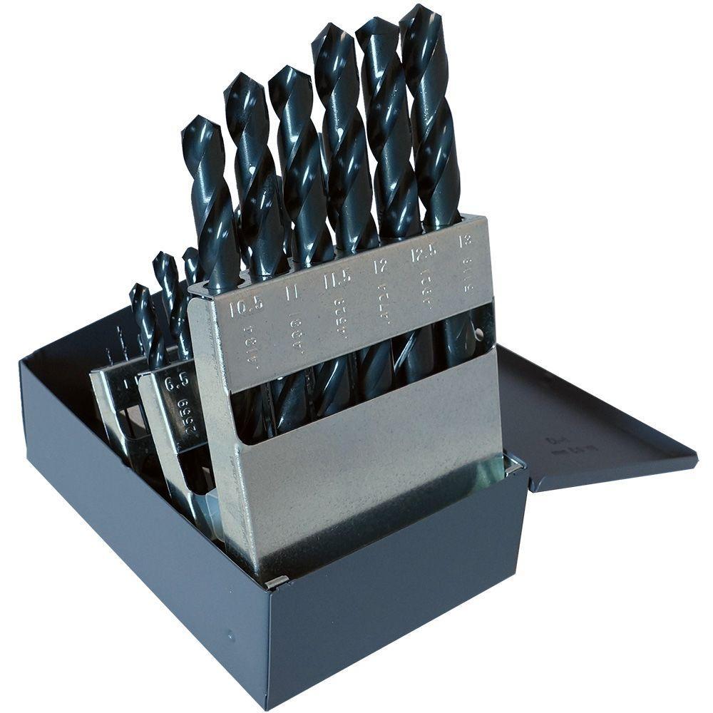 General Purpose Jobber Length Metric Drill Set (25-Piece)