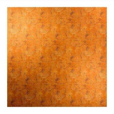 Flat Panel - 2 ft. x 2 ft. Lay-in Ceiling Tile in Muted Gold