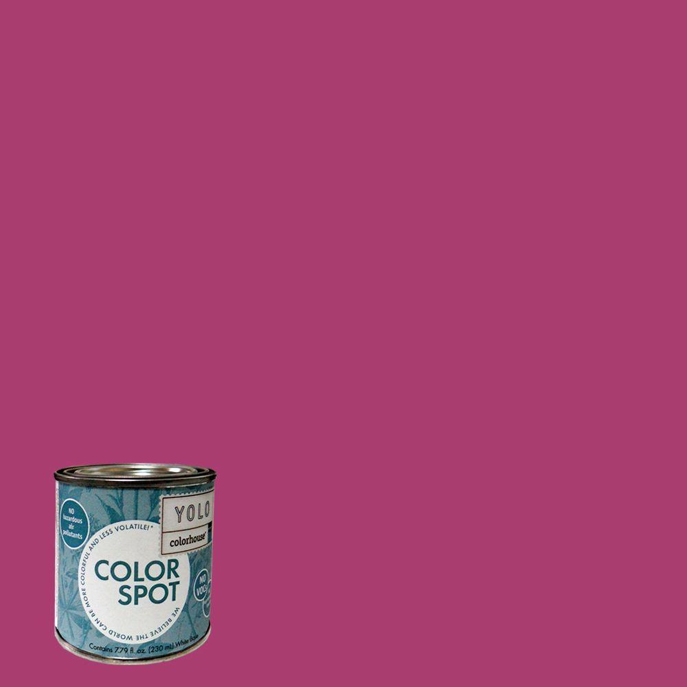 YOLO Colorhouse 8 oz. Petal .04 ColorSpot Eggshell Interior Paint Sample-DISCONTINUED
