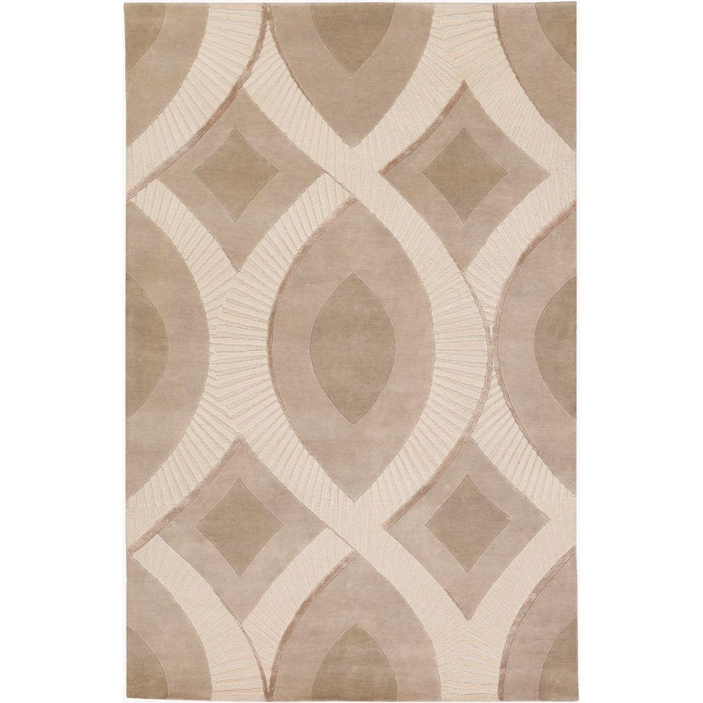 Surya Candice Olson Ivory 5 Ft X 8 Contemporary Area Rug