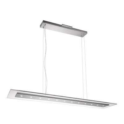 Matrix 12-Light Brushed Nickel LED Hanging Pendant