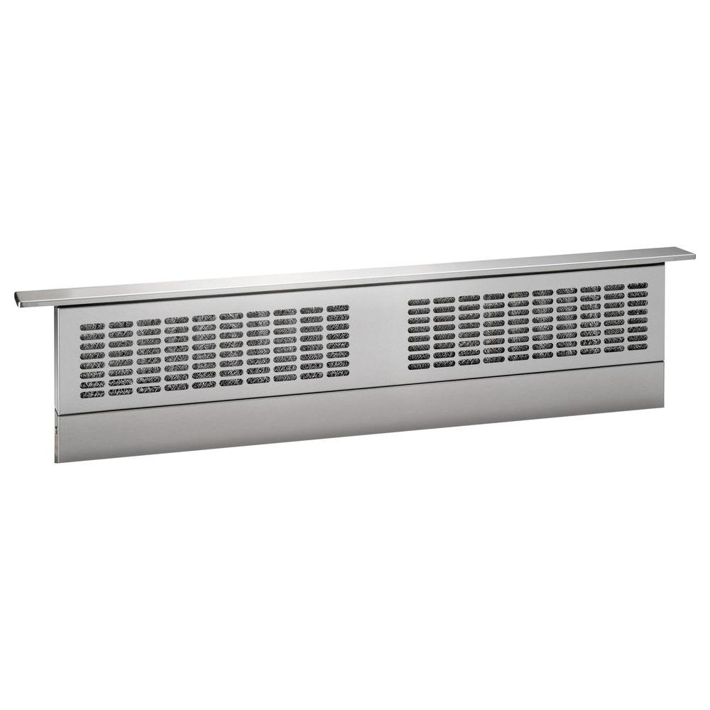 Ge 36 In Telescopic Downdraft System In Stainless Steel
