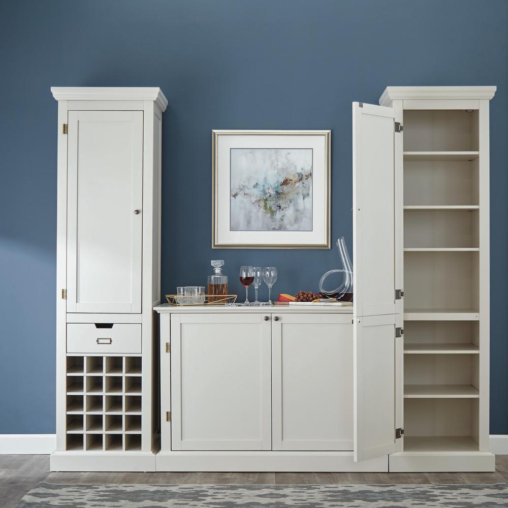 Home Decorators Collection Prescott Polar White Modular ...