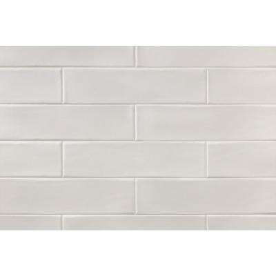 Birmingham Vanilla 3 in. x 12 in. 8mm Polished Ceramic Subway Tile (5.38 sq. ft. / box)