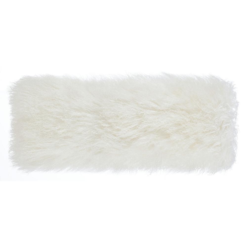 Tibetan Sheep Long White Pillow