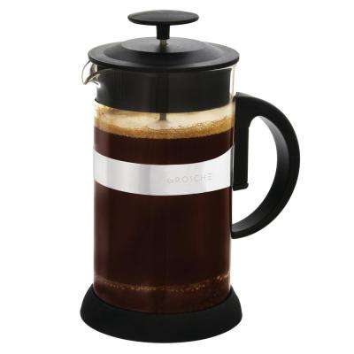 Zurich 3-Cup French Press in Black