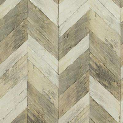 Chevron Herringbone Wallpaper Decor The Home Depot