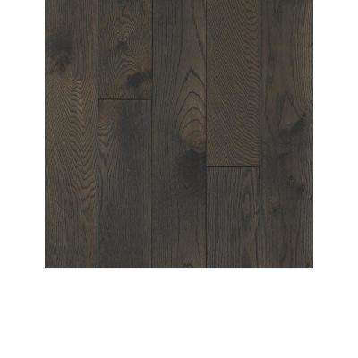 Take Home Sample - Oak Shadowy Gray Solid Hardwood Flooring - 5 in. x 7 in.