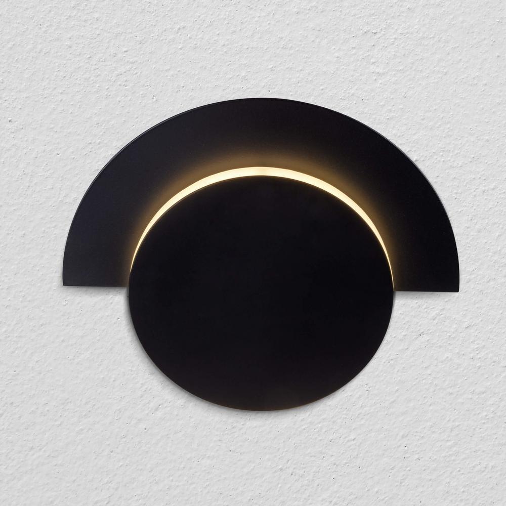 Talitha 10-Watt Black Integrated LED Sconce
