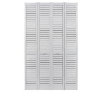 Pinecroft 72 In X 80 In Seabrooke Louver Louver White