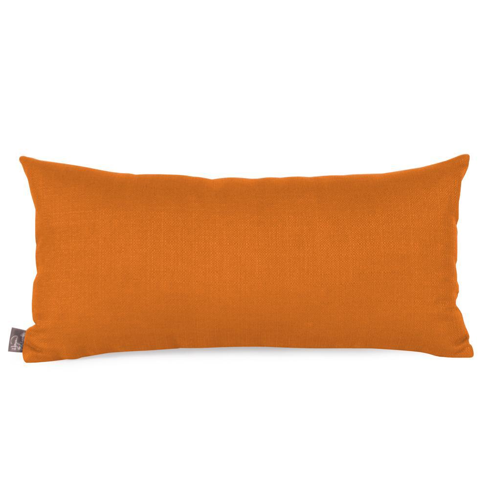 Sterling Orange Canyon Kidney Decorative Pillow