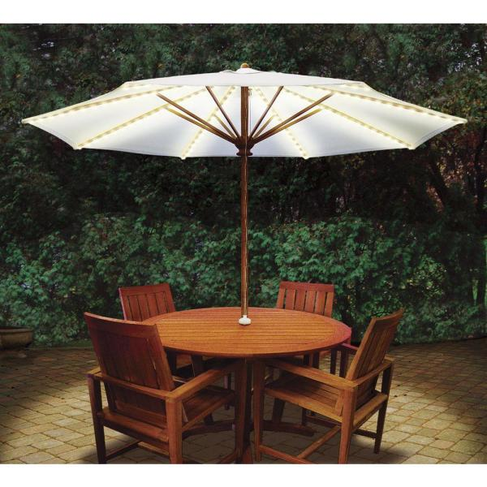 Patio Umbrella Lighting System