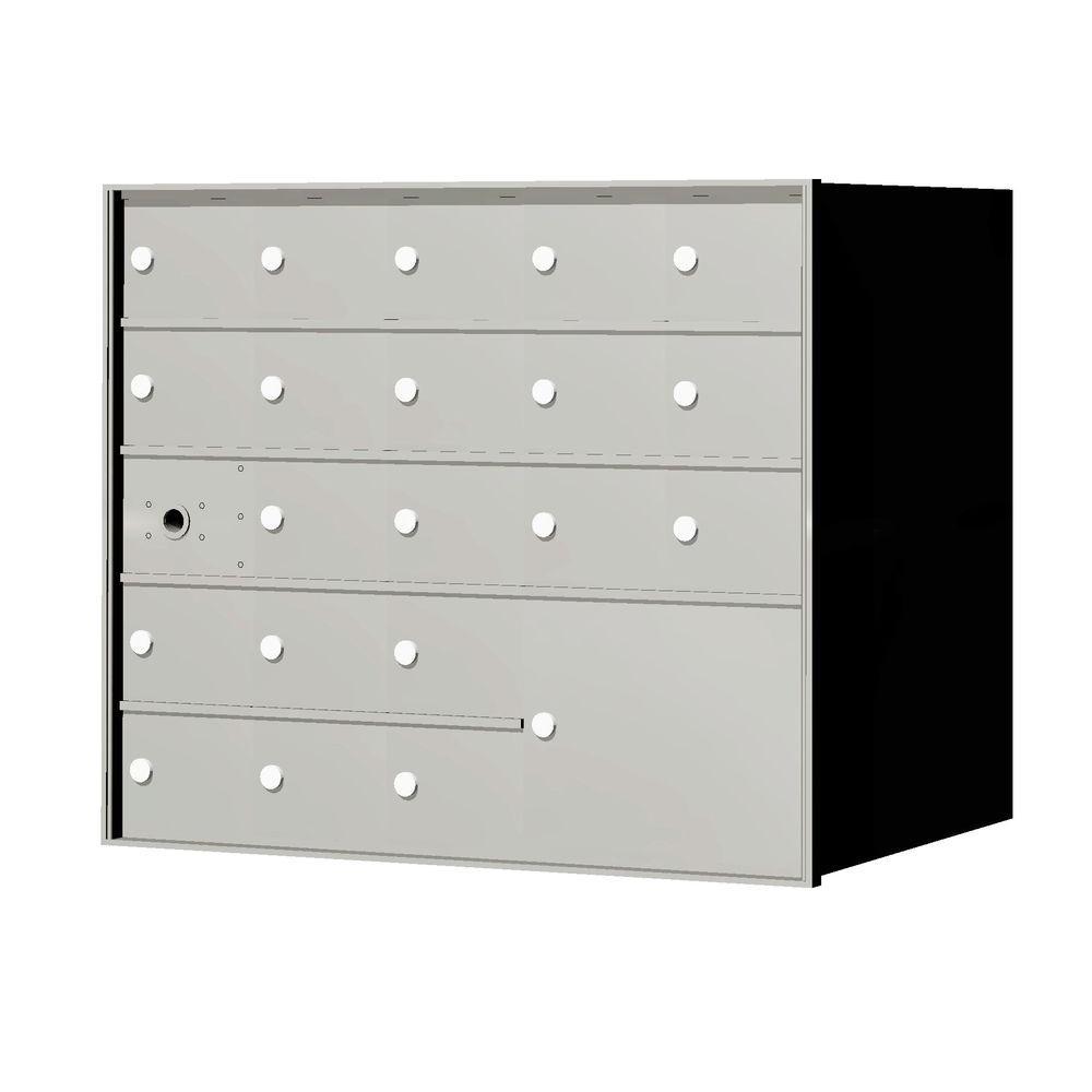 1,400 Series 1-Parcel Locker Recessed Horizontal Mailbox