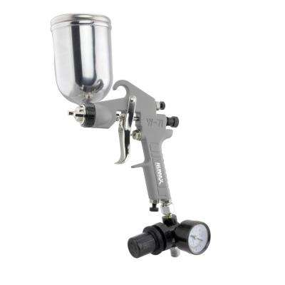 Pneumatic Gravity Feed Spray Gun with 400 cc Aluminum Cup