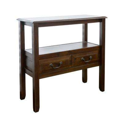 Grant Brown Mahogany Accent Table