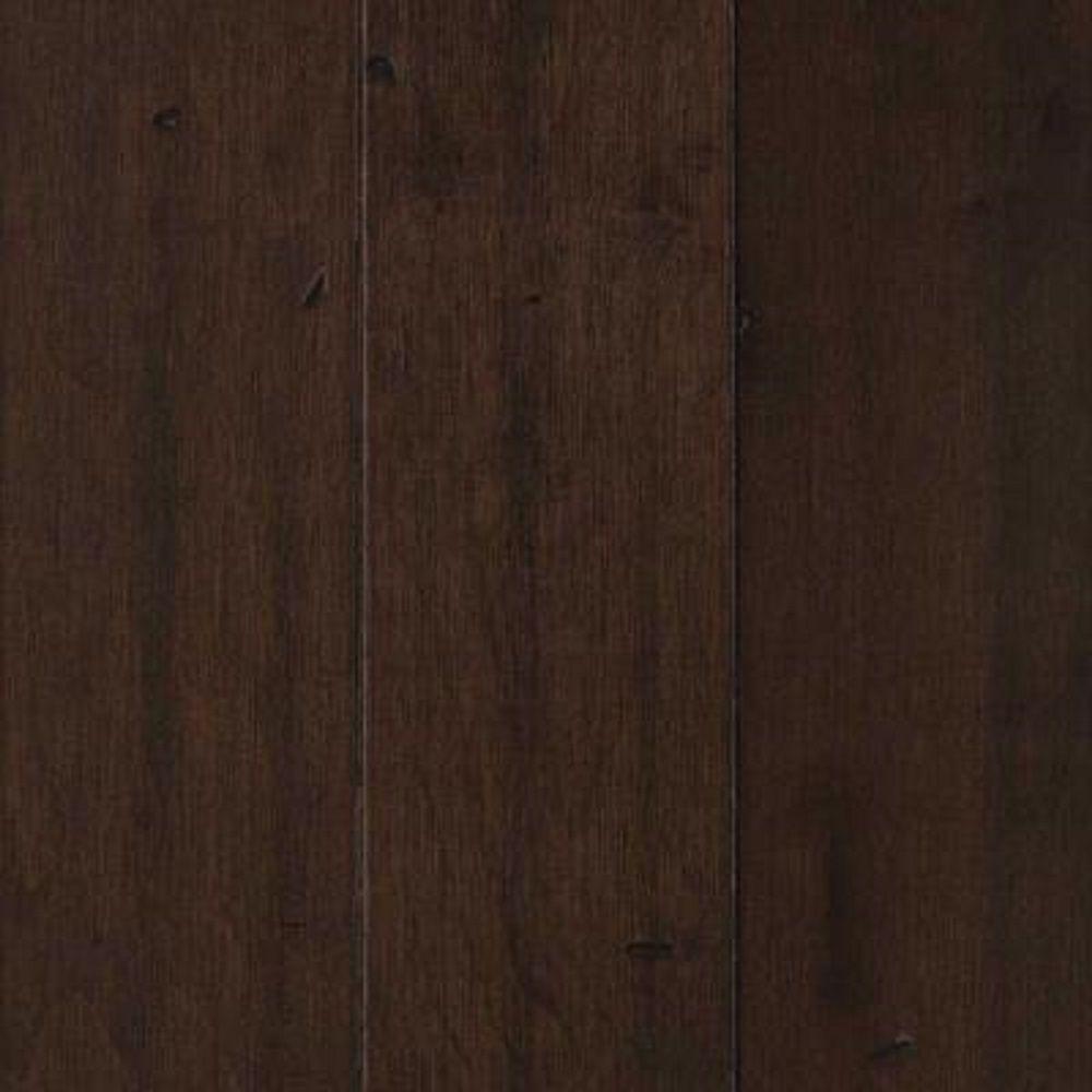 Take Home Sample - Landings View Dark Port Maple Engineered Hardwood Flooring - 5 in. x 7 in.