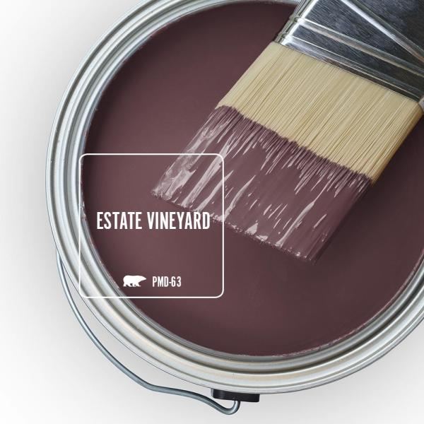 Reviews For Behr Ultra 5 Gal Pmd 63 Estate Vineyard Satin Enamel Exterior Paint And Primer In One 985305 The Home Depot