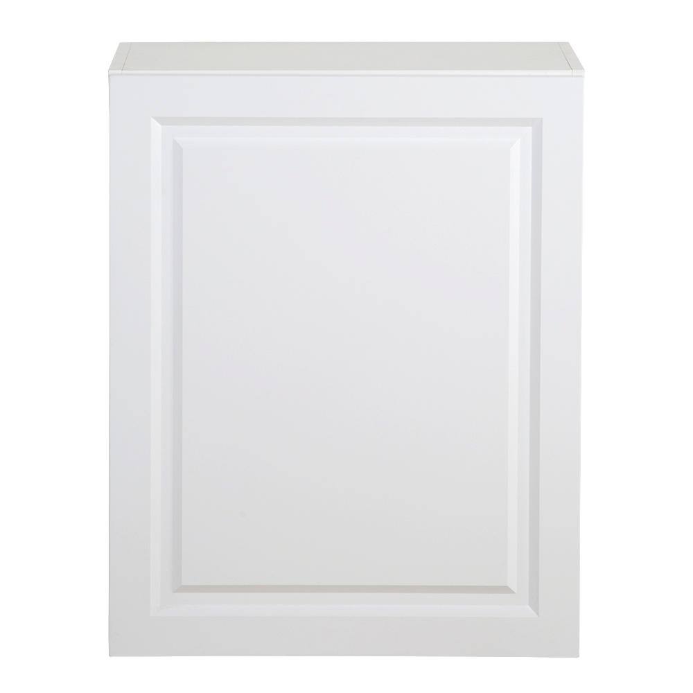 Benton Assembled 24x30x12.5 in. Wall Cabinet in White