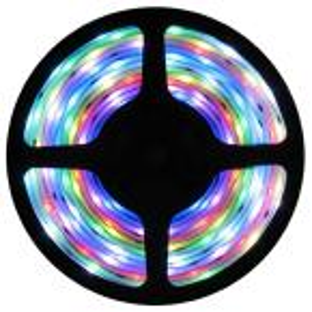 1 x 5 m RGB Colored Rope Strip Light Wi-Fi, Remote Control