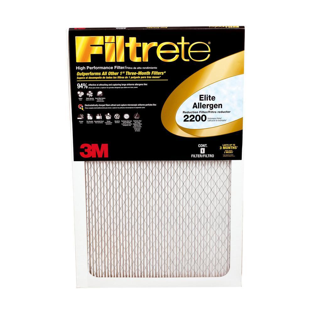 20 in. x 14 in. x 1 in. Elite Allergen Reduction FPR 10 Air Filter