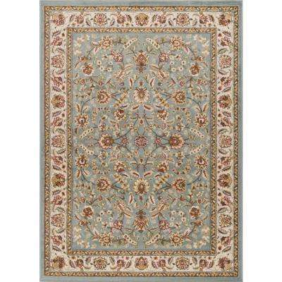 Laguna Blue 9 ft. 3 in. x 12 ft. 6 in. Indoor Area Rug