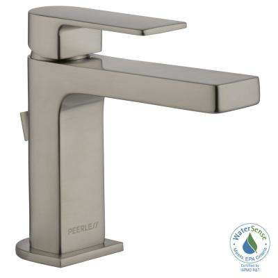 Xander 4 in. Centerset Single-Handle Bathroom Faucet in Brushed Nickel