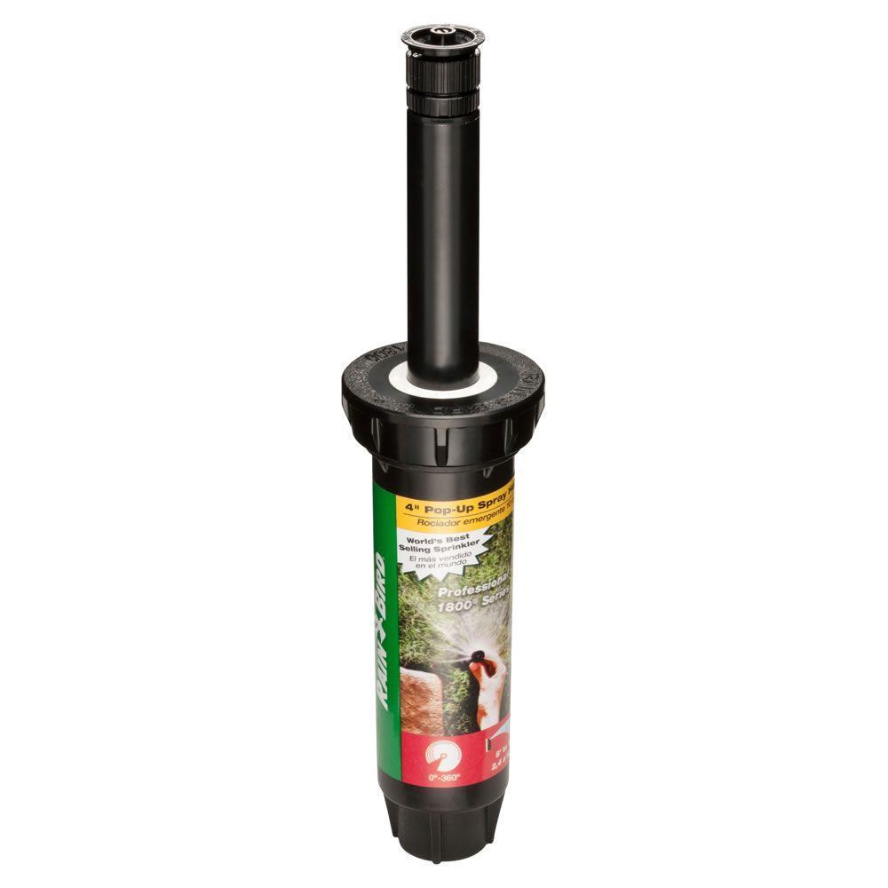Rain Bird 1804 High Efficiency Adjustable 4 in. Pop-Up Spray Twin Pack