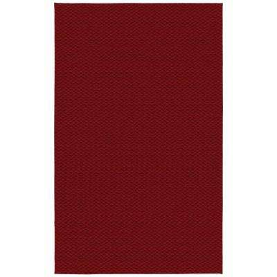 Medallion Chili Red 9 ft. x 12 ft. Area Rug