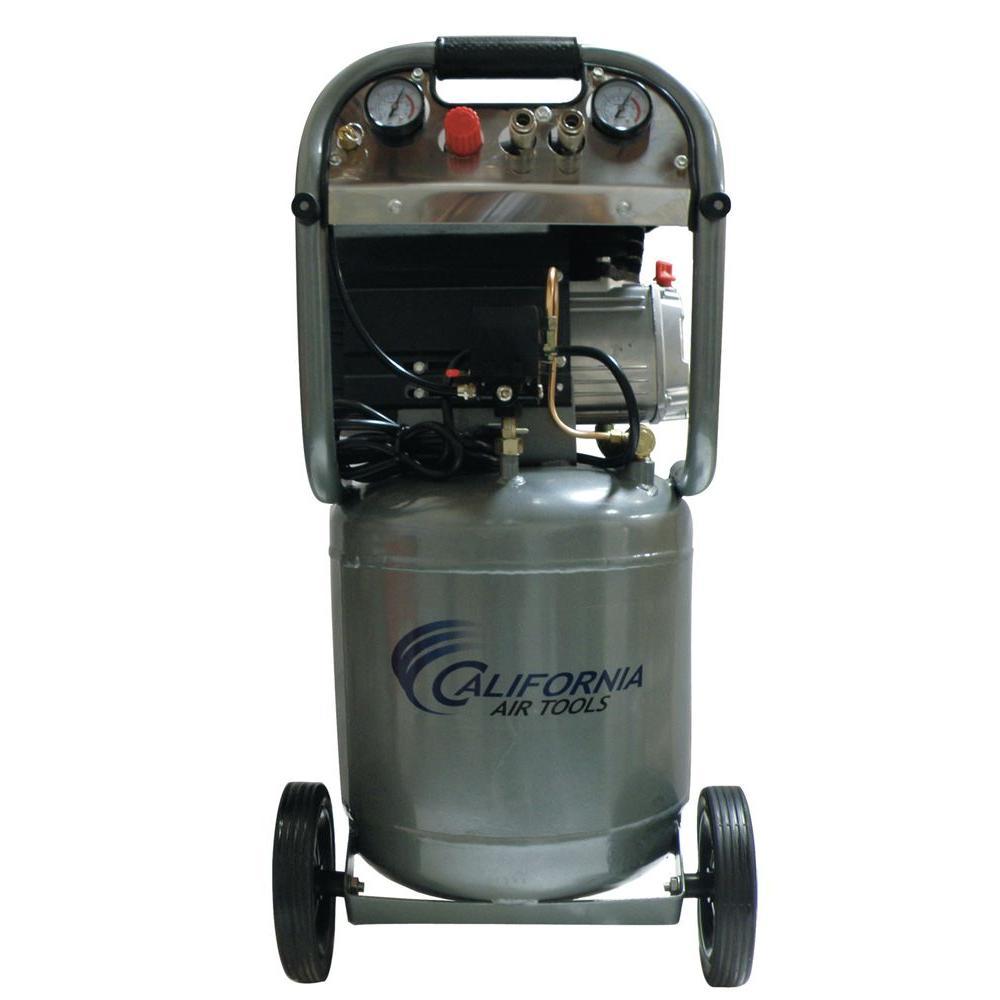 California Air Tools 10-Gal. 2 HP Steel Tank Oil Lubricated Air Compressor-DISCONTINUED