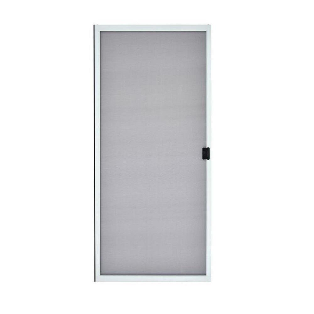 Mmi Door 37 In X 79 5 8 In White Steel Sliding Patio Screen Door Z009464 The Home Depot