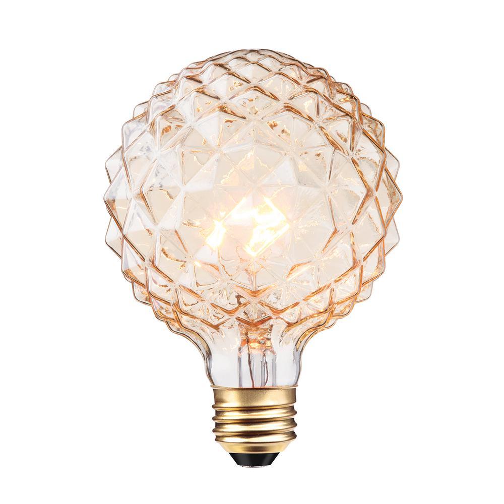 Globe Electric 40W Clear Designer Vintage Edison ...