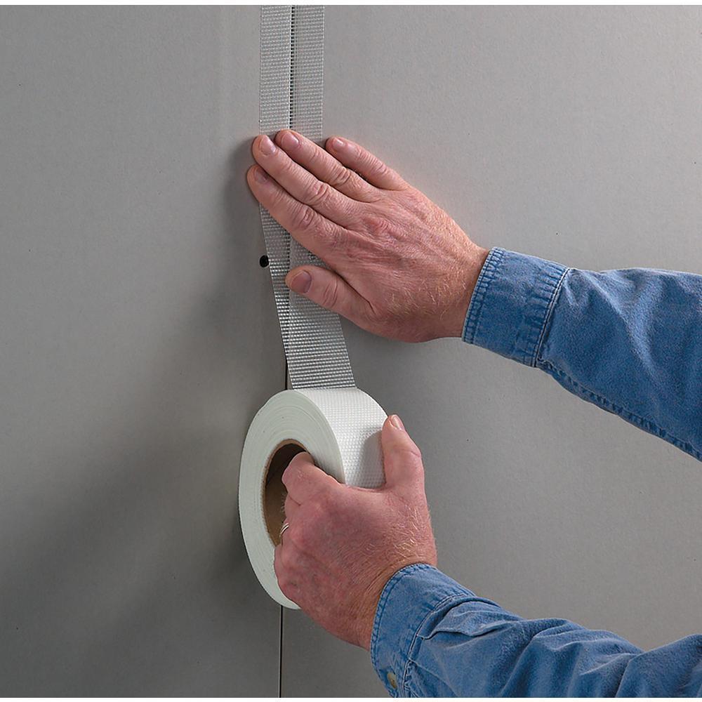 FibaTape Standard White 1-7/8 in. x 180 ft. Self-Adhesive Mesh Drywall Joint Tape