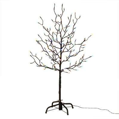4 ft. City Lights LED Artificial Tree