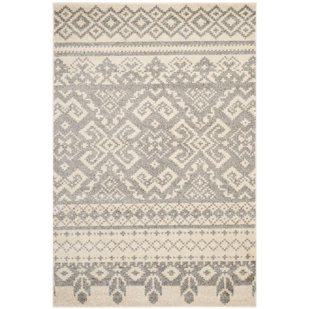 Safavieh Adirondack Ivory Silver 8 Ft X 10 Ft Area Rug