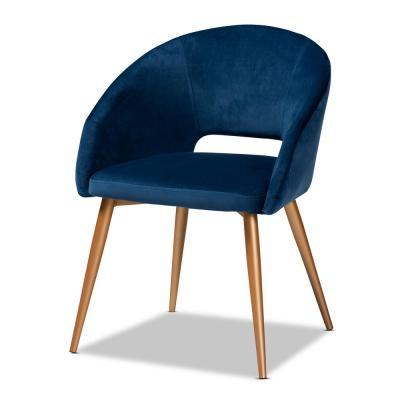 Vianne Navy Blue Dining Chair