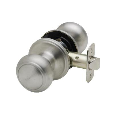 Colonial Satin Stainless Passage Hall/Closet Door Knob