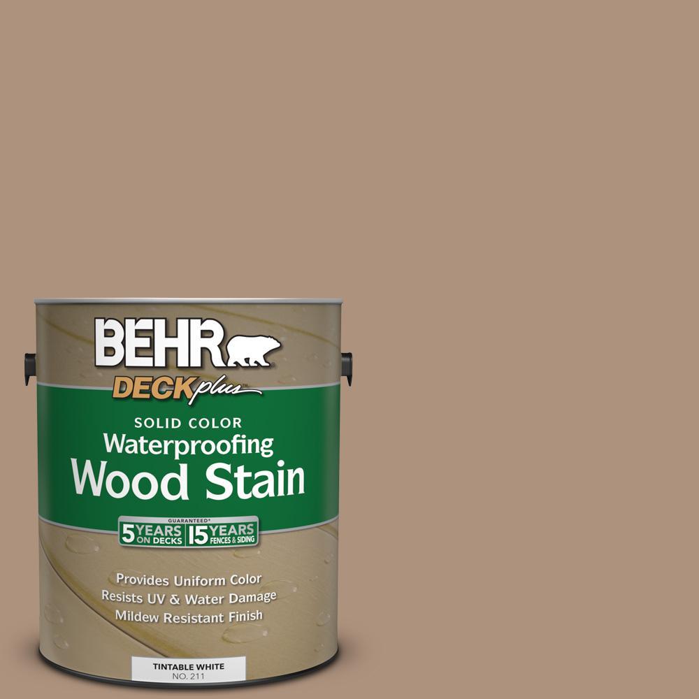 1 gal. #SC-160 Rose Beige Solid Color Waterproofing Wood Stain