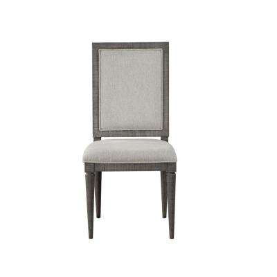 Artesia Fabric and Salvaged Natural Side Chair (Set of 2)